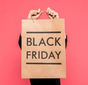 cartel bolsa black friday